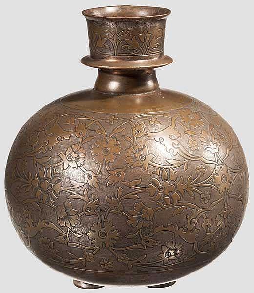 Korpus einer Wasserpfeife (Huqqa-Bowl), Indien um 1800