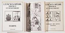 Drei Bände Diderot, Reprint