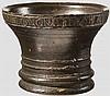 Bronzemörser, Frankreich, datiert 1706