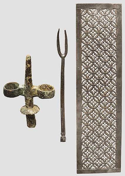 Drei gotische Objekte
