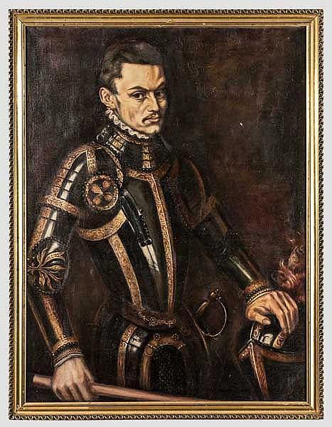 Portrait William von Orange, nach dem Original Anthonis Mor van Danhorst , datiert 1555