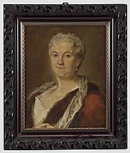 Damenportrait im Stil von Rosalba Carriera, 19. Jhdt.