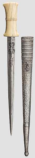Lanzenspitzendolch, osmanisch um 1800