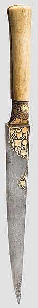 Goldeingelegter Kard, Persien um 1800