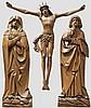 A Swabian crucifixion group, circa 1520