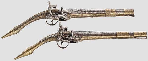 Zwei Miqueletpistolen, Albanien, 19. Jhdt.