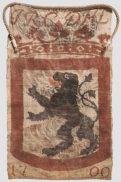 Jagdlappen, Hahnau-Lichtenberg, datiert 1700