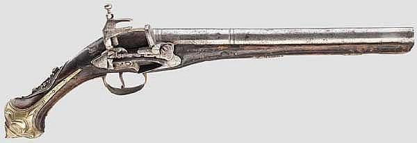 Miqueletpistole, osmanisch, 19. Jhdt.