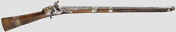 Steinschlossgewehr (Tüfek), osmanisch, 19. Jhdt.