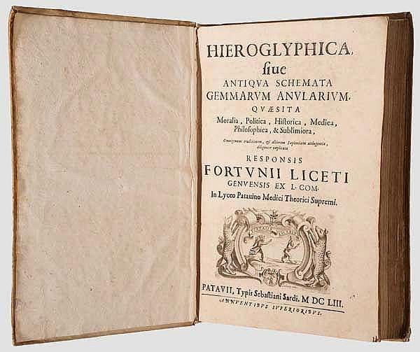 Hieroglyphica sive Antiqua Schemata Gemmarum Anularium quaesita, Padua 1653