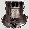 Frühbarockes Truhenschloss, deutsch um 1650