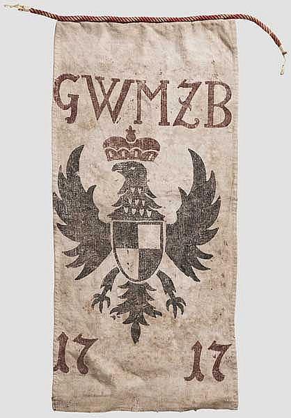 Jagdlappen, Brandenburg-Bayreuth, datiert 1717