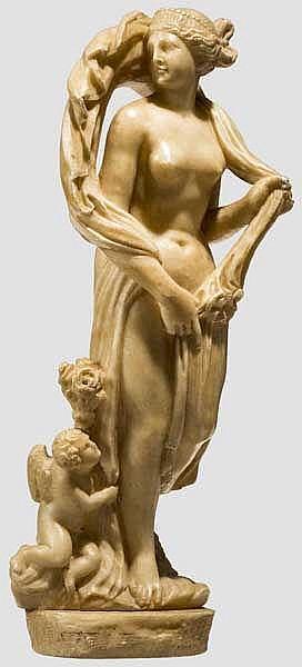 Venus-Statuette, Italien um 1800