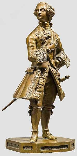 Figur eines hohen Adeligen, um 1700