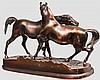 Liebesspiel der Pferde, Gießerei Mägdesprung um 1890