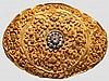 An Indian diamond-studded decorative gold belt, 1st half of 20th century