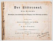 Der Rittersaal, Stuttgart, 1842