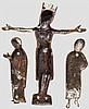 Kreuzigungsgruppe, im Stile Limoges des 13.Jhdts.