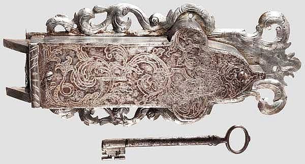 Schrankschloss, süddeutsch um 1740