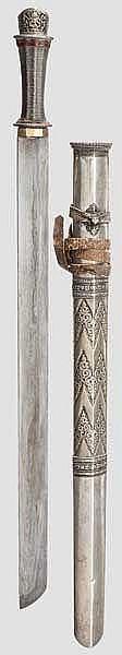 Schwert, Tibet, 19. Jhdt.