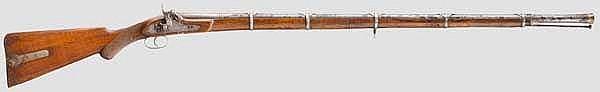 Perkussionsgewehr, Indien, 19. Jhdt.