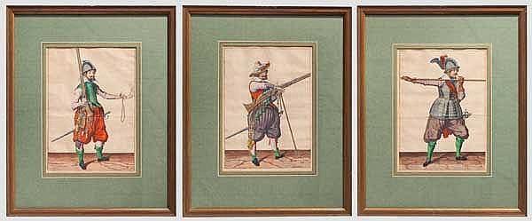 Jacob de Gheyn II. (1565 - 1629) - drei Kupferstiche