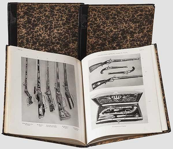 Drei Kataloge bedeutender Waffensamlungen, Fischer Auktionen Luzern 1932-35