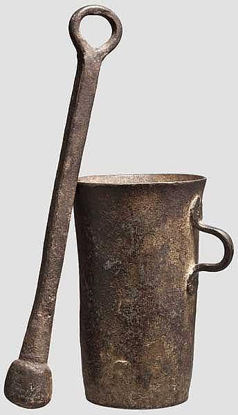 Gotischer Mörser, um 1500