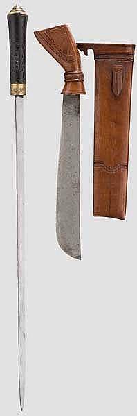 Neun Messer, Indien, 20. Jhdt.