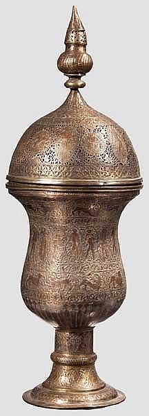 Zierpokal, Persien, 19. Jhdt.