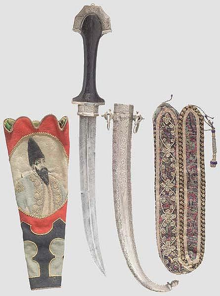 Futteral für eine Lackschachtel, Persien, 19. Jhdt.