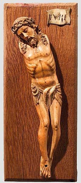 Christuskorpus, deutsch oder französisch, 1. Viertel 16. Jhdt.