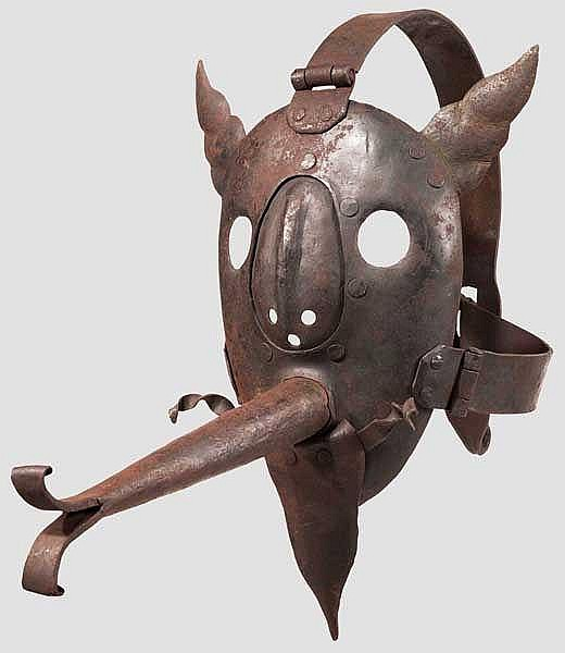 Schandmaske im Stil des 17. Jhdts, Historismus