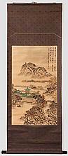Rollbild, China, 20. Jhdt.