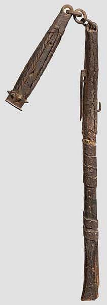 Reiter-Kriegsflegel, deutsch um 1600