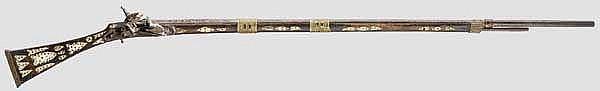 Steinschlossgewehr, Algerien, 19. Jhdt.