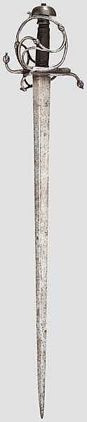 Korbschwert, süddeutsch um 1580