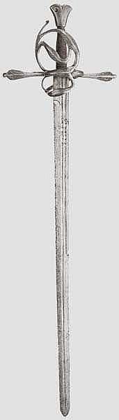 Korbschwert, steirisch um 1580