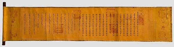 Dekret, späte Qing-Dynastie