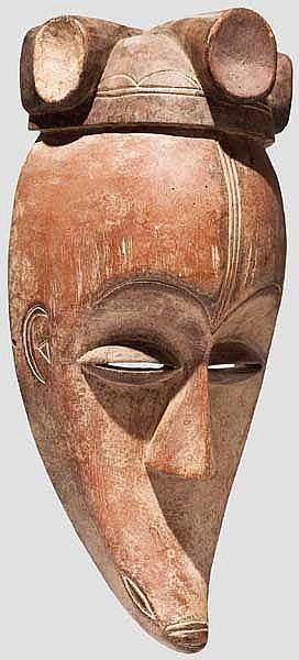 Große Schnabelmaske der Fang, Gabun