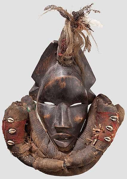 Maske der Dan, Liberia
