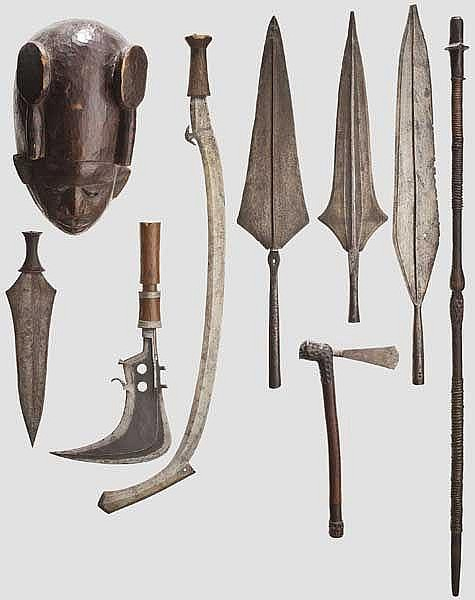 Sammlung Blankwaffen, Zentralafrika