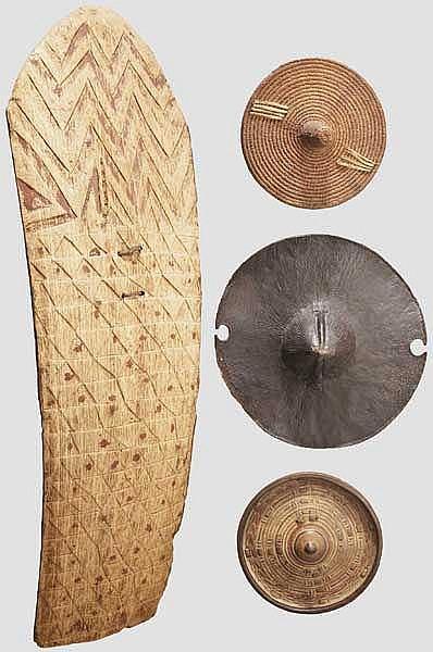 Kleine Sammlung Schilde, Nord- und Zentralafrika