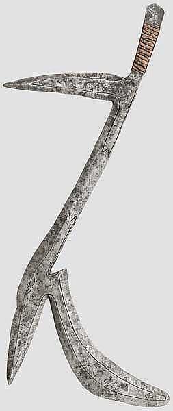 Wurfmesser der Widri, Zentralafrika