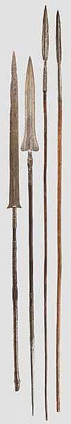 Vier Speere, Zentralafrika