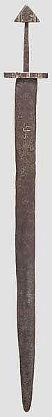 Wikingisches Schwert, Kopie im Stil des 10. Jhdts.