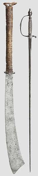 Galadegen und chinesisches Schwert