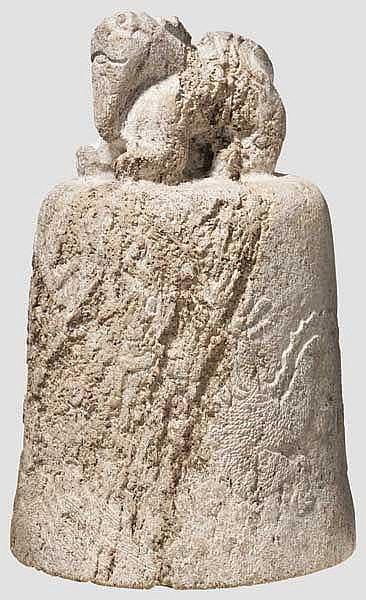 Rituelle Jadeglocke, China, Zeit der Streitenden Reiche, 475 - 221. v. Chr.