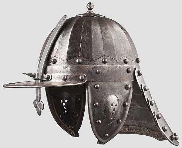 Offizierszischägge im Stil um 1650