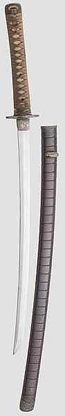 Wakizashi, um 1750